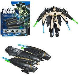 Star Wars Mini Transformers Action Figure  General Grievous to