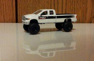 64 Custom Lifted CASE IH Dodge Ram 4x4 Cummins Toy Farm Truck ERTL DCP
