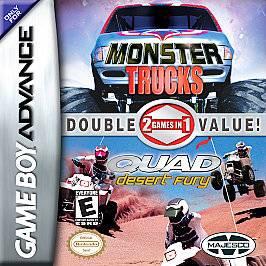 Monster Trucks/Quad Desert Fury Double Game Pack (Nintendo