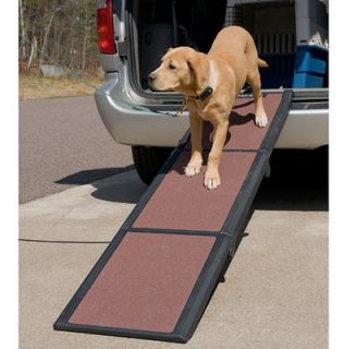 New Pet Ramp Travel Lite Pet Gear Tri fold Full Ramp holds 200 lbs