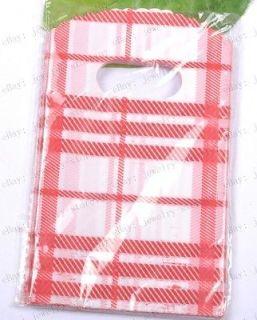 FREE SHIP 50pcs red sub box Plastic Shopping/Gift Small Packing Bag