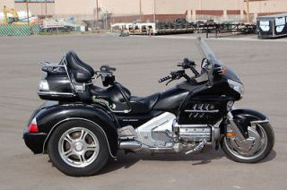 Honda  Gold Wing 2006 Honda GL1800 Goldwing Trike Black P11988