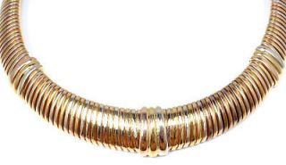 Newly listed AUTHENTIC CARTIER TUBOGAS 18K TRI COLOR GOLD NECKLACE