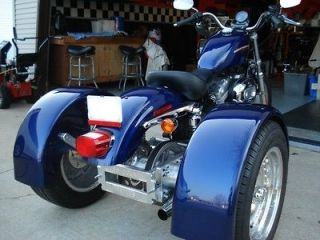 2004 and Newer Sportster Trike Kit Swingarm Incl.