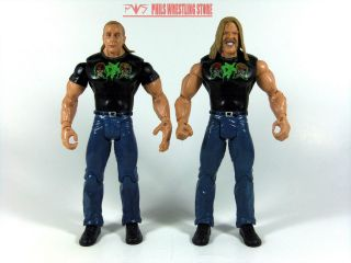 WWE DX Shawn Michaels & Triple H Action Figures WWF Classic Attitude