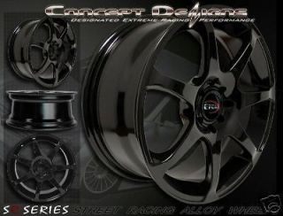Newly listed 17 EVOKE™ GT WHEELS RIMS UNIVERSAL 10H / 5 LUG BLACK