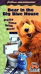 Bear in the Big Blue House   Potty Time with Bear (VHS, 1999, Closed