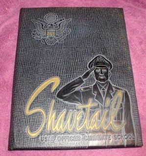 1952 D United States Air Force Officer Candidate School Yearbook