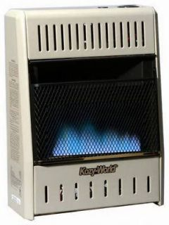 10,000 BTU Blue Flame Vent Free Dual Gas Wall Heater