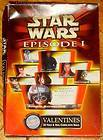 EPISODE I PHANTOM MENACE VALENTINES DAY CARDS DARTH MAUL JEDI DROIDS