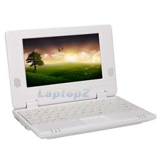 New 7 Android 2.2 Mini Laptop Notebook VIA 8650 800MHz 4GB 256MB Wifi