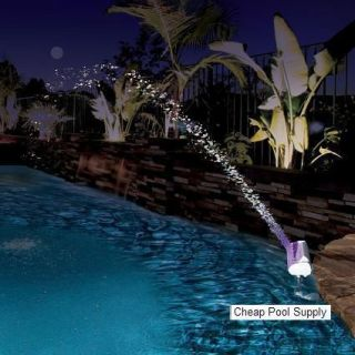 Pool Master Color Cascade Waterfall Fountain LED LIGHTS