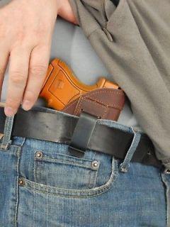 Barsony Brown Leather IWB Concealment Gun Holster for Beretta Nano 9mm