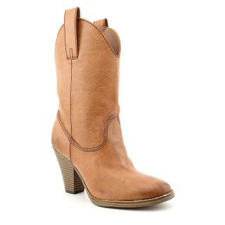 Madden Girl Snappiee Western Boots Tan Womens