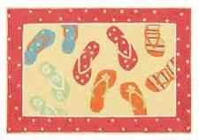 flip flop rug in Rugs & Carpets