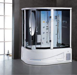 New 2013 steam shower sauna whirlpool massage hot tub bath spas in - Sauna whirlpool ...