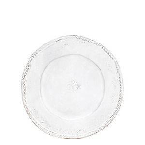 Vietri Bellezza White Dinner Plates SET OF 4 No Tax
