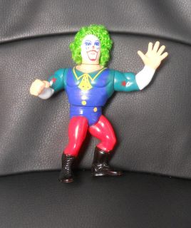 VINTAGE WWE/WWF/WCW WRESTLING ACTION FIGURES DOINK THE CLOWN