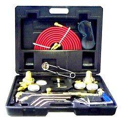 Type Gas Welding & Cutting Kit Oxygen Torch Acetylene Welder Tool