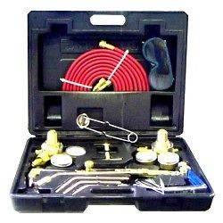 Type Gas Welding & Cutting Kit Oxygen Torch Acetylene Welder Tool