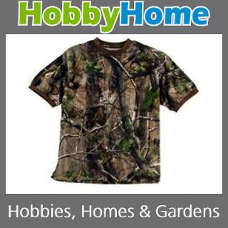 REALTREE APG HD CAMO CAMOUFLAGE SHORT SLEEVE T SHIRT CHOOSE SIZE
