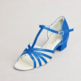 Blue Stardust Swing Sandal ,T Strap with Mesh  Limited Edition