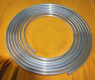 Pro Series 1/2 Aluminum Fuel Line Tubing Hose 25Ft