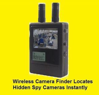 Wireless Camera Hunter Hidden Camera Spy Bug Detector Finds Wireless