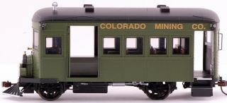 Spectrum On30 Scale Train Rail Bus DCC Equipped Colorado Mining 28462