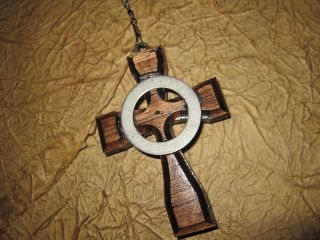 Boondock Saints inspired Irish Brother Cross on a chain
