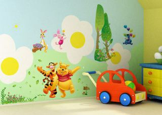 Funny Winnie The Pooh Tigger Friends decal Decor Wall Sticker for