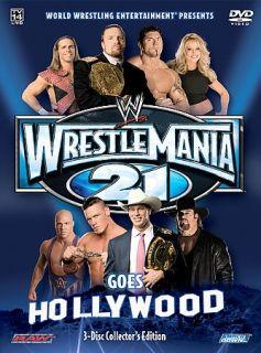 WWE   Wrestlemania 21 Wrestlemania Goes Hollywood (DVD, 200