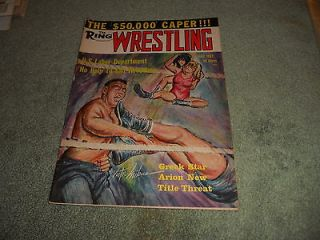 ring wrestling magazine in Sports Mem, Cards & Fan Shop