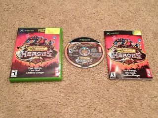 Dungeons & Dragons Heroes Original Xbox Game Complete Cleaned and