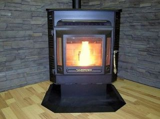 Jamestown J2000 wood pellet stove   NO HEARTH PAD NEEDED