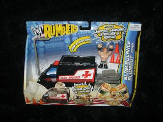 WWE RUMBLERS SLAM BULANCE SLIDEOUT PLAYSET WITH SHEAMUS FIGURE NIP