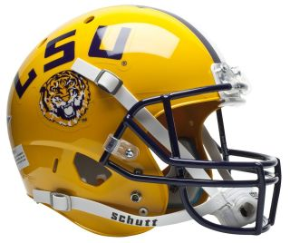 LSU TIGERS Schutt AiR XP REPLICA Football Helmet