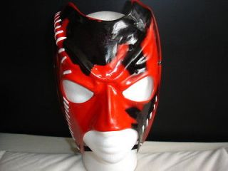WWE KANE REPLICA CHILD & ADULT NEW MASK CUSTOM HANDMADE FANCY DRESS UP