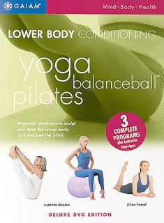 Lower Body Conditioning Yoga, Balanceball, and Pilates DVD, 2003