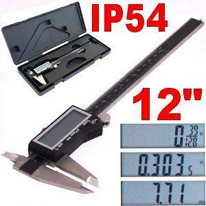 Newly listed 12 DIGITAL ELECTRONIC CALIPER LARGE LCD X PRECISION INCH