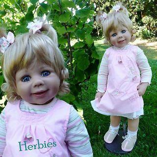 Mondays Child Monika Levenig 29 Full Vinyl Ball Jointed Doll