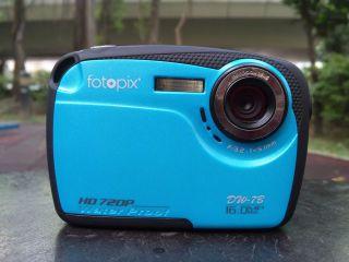 underwater digital camera, IPX8 3m waterproof, HD720p, 4X digital zoom