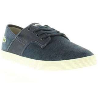 Lacoste Shoes Genuine Andover CI Suede Dark Blue Mens Shoes Sizes UK 8