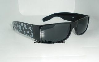Sons Of Anarchy Sunglasses Chopper West Coast Black n White Design BIN