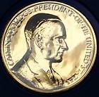 Calvin Coolidge Presidential Medal, From the Hail to The Chiefs
