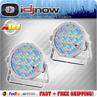 American DJ Jelly Par Profile White LED RGB DMX Wash Up Lighting