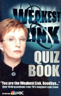 The Weakest Link Quiz Book by Andrews McMeel Publishing Staff, Gary