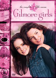 Gilmore Girls The Complete Fifth Season DVD, 2009, 6 Disc Set