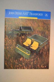 John Deere Brochure   AMT Transports   600 622 Cover   1988