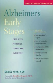 Alzheimers Early Stages First Steps for Family, Friends and